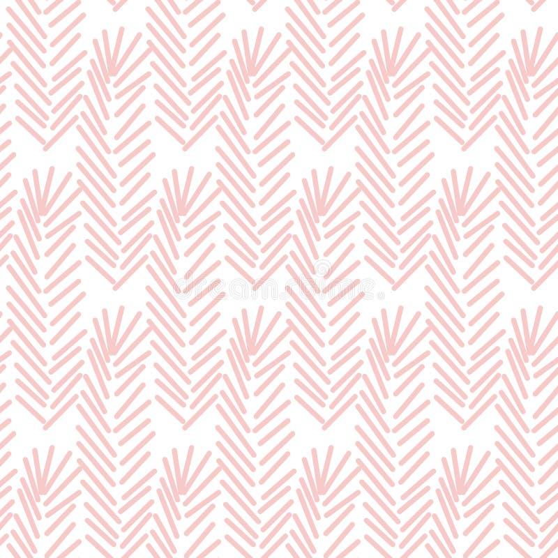 Modèle sans couture géométrique dans la couleur de pantone de l'année 2016 Conception simple abstraite illustration de vecteur