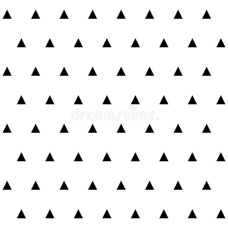 Modèle sans couture géométrique de résumé avec des tringles illustration libre de droits