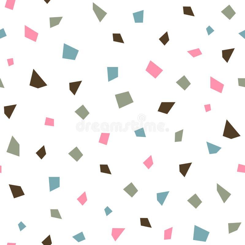 Modèle sans couture géométrique de vecteur illustration de vecteur
