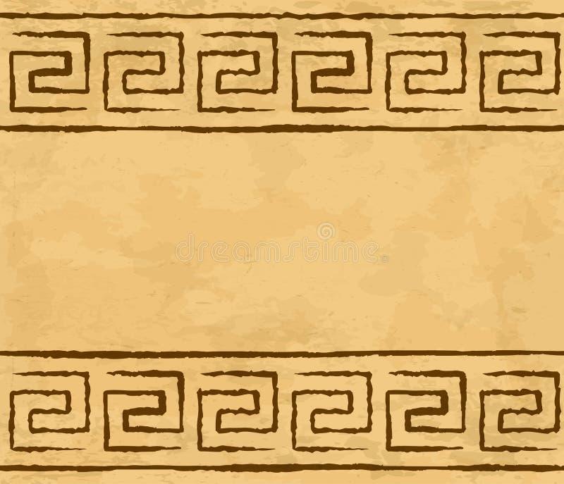 Modèle sans couture grec illustration de vecteur