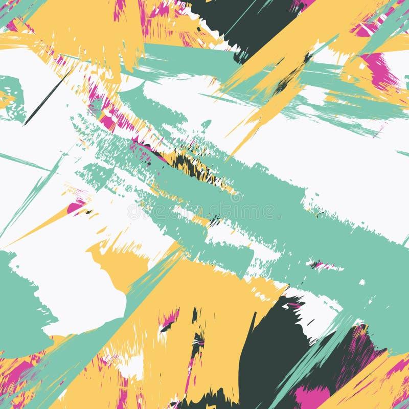 Modèle sans couture grunge de texture illustration stock