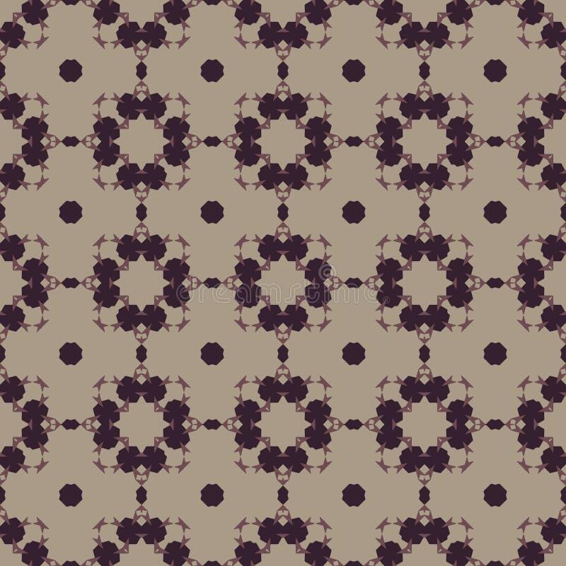 Modèle sans couture marocain Abrégez l'ornement illustration de vecteur