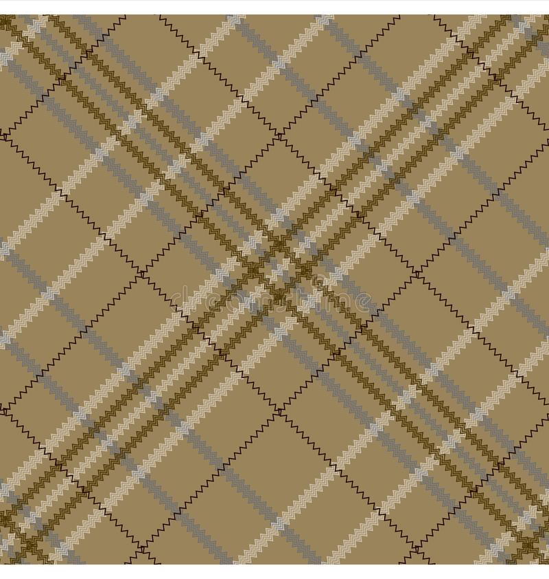 Modèle sans couture parttern de tartan/plaid/contrôle illustration libre de droits