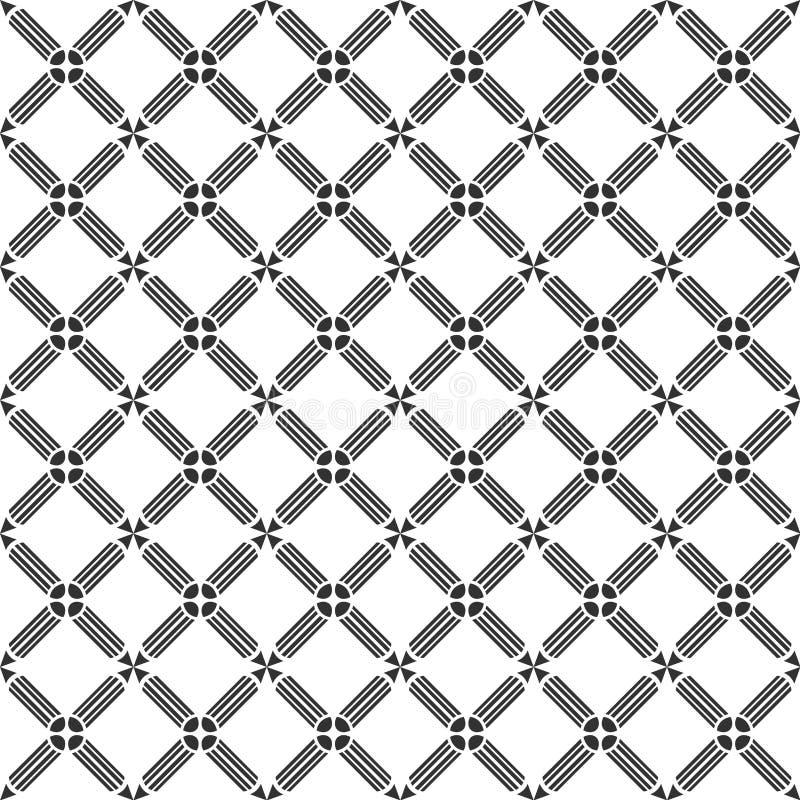 Modèle sans couture, répétant la texture géométrique illustration libre de droits