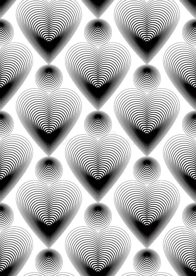 Modèle sans couture rayé géométrique, backgr lumineux d'abrégé sur vecteur illustration libre de droits