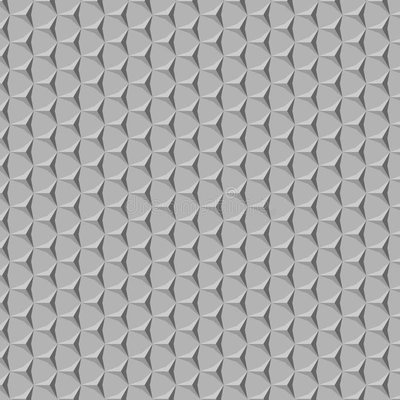 Modèle simple gris avec la triangle photos libres de droits