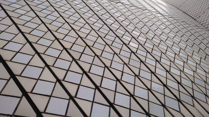 Modèle sur les voiles de Sydney Opera House photo stock