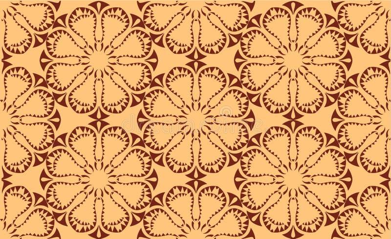 Modèle symétrique sans couture de vecteur photographie stock libre de droits