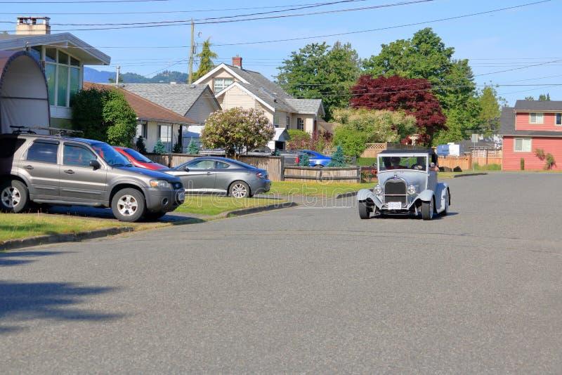 Modèle T Ford à Chilliwack, Colombie-Britannique, Canada images libres de droits