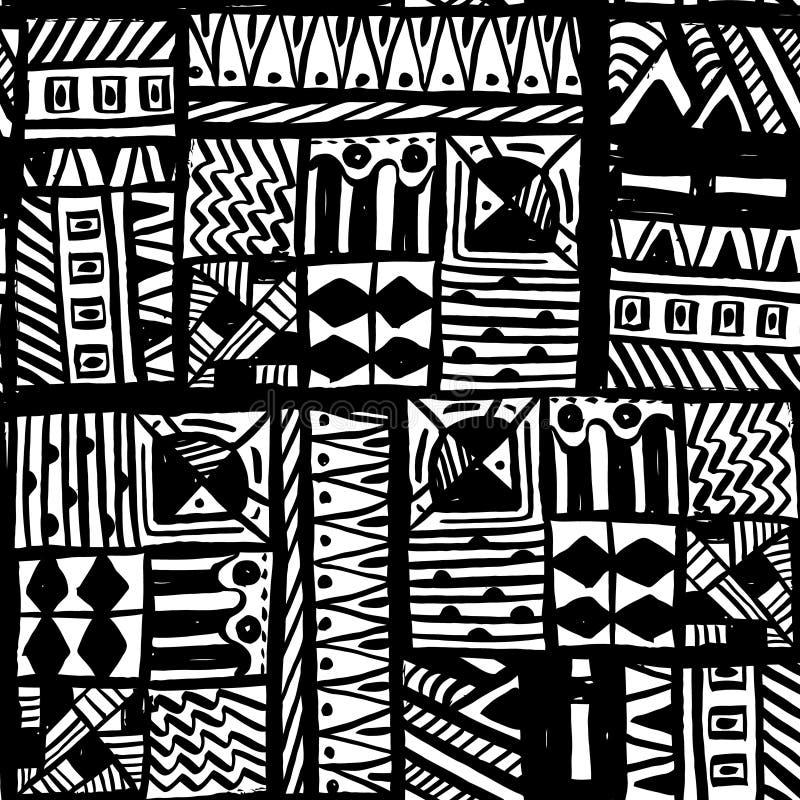 Modèle tiré par la main à la mode d'encre Texture d'illustration Regardez parfaitement sur le tissu, le textile, etc. Illustratio illustration stock