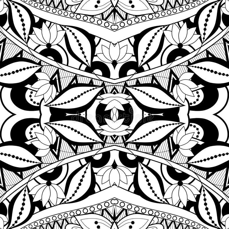 Download Modèle Tribal Abstrait Sans Couture (vecteur) Illustration de Vecteur - Illustration du main, lacet: 56479789