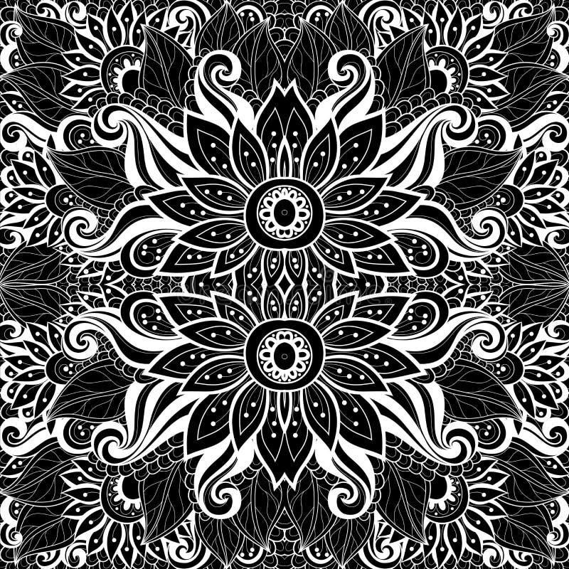 Download Modèle Tribal Abstrait Sans Couture (vecteur) Illustration de Vecteur - Illustration du bohemian, mexicain: 56480149