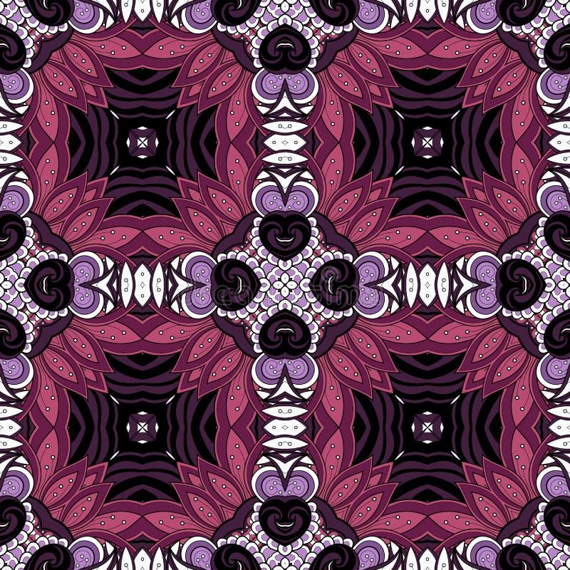 Download Modèle Tribal Abstrait Sans Couture (vecteur) Illustration de Vecteur - Illustration du éléments, fleur: 56480187