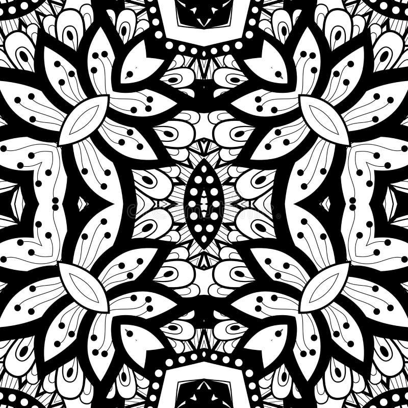 Download Modèle Tribal Abstrait Sans Couture (vecteur) Illustration de Vecteur - Illustration du cirque, mandala: 56480243