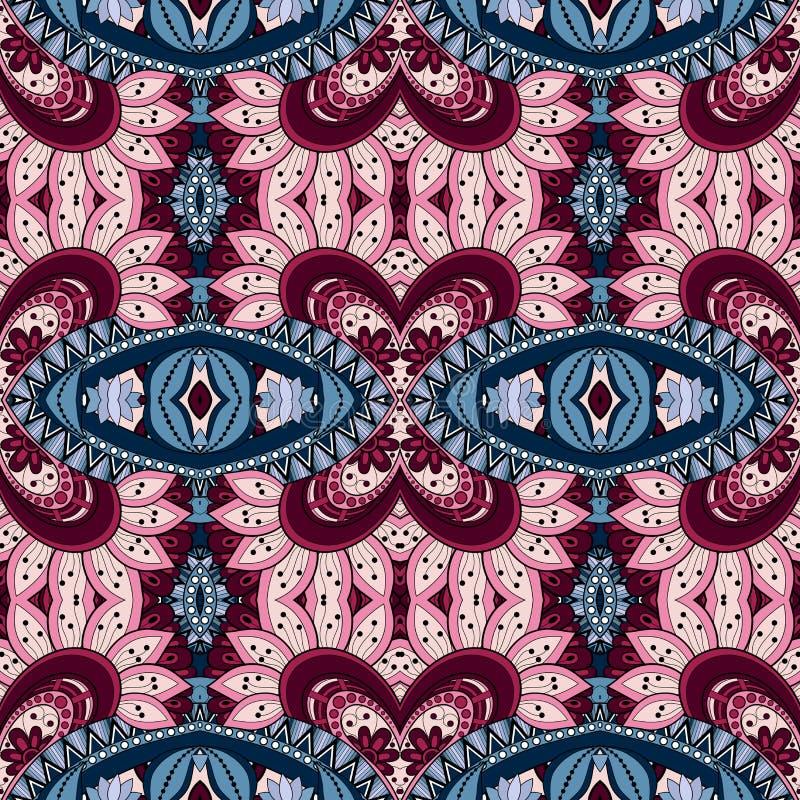 Download Modèle Tribal Abstrait Sans Couture (vecteur) Illustration de Vecteur - Illustration du tissu, imagination: 56481468
