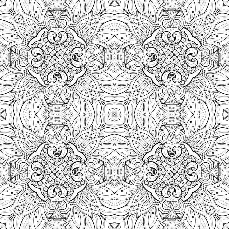 Download Modèle Tribal Abstrait Sans Couture (vecteur) Illustration de Vecteur - Illustration du fond, dessiné: 56481477
