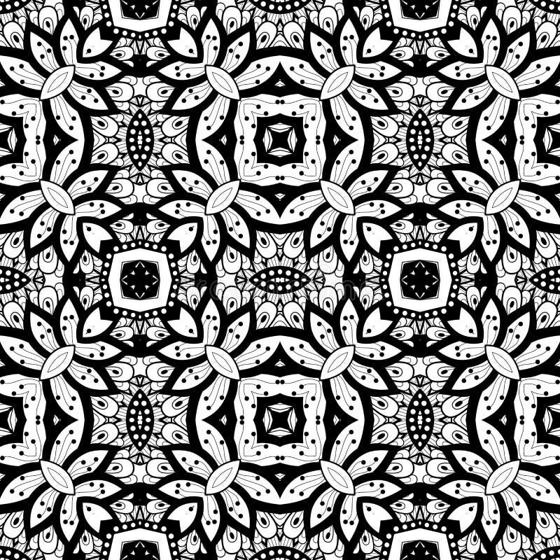 Download Modèle Tribal Abstrait Sans Couture (vecteur) Illustration de Vecteur - Illustration du forme, ligne: 56482330