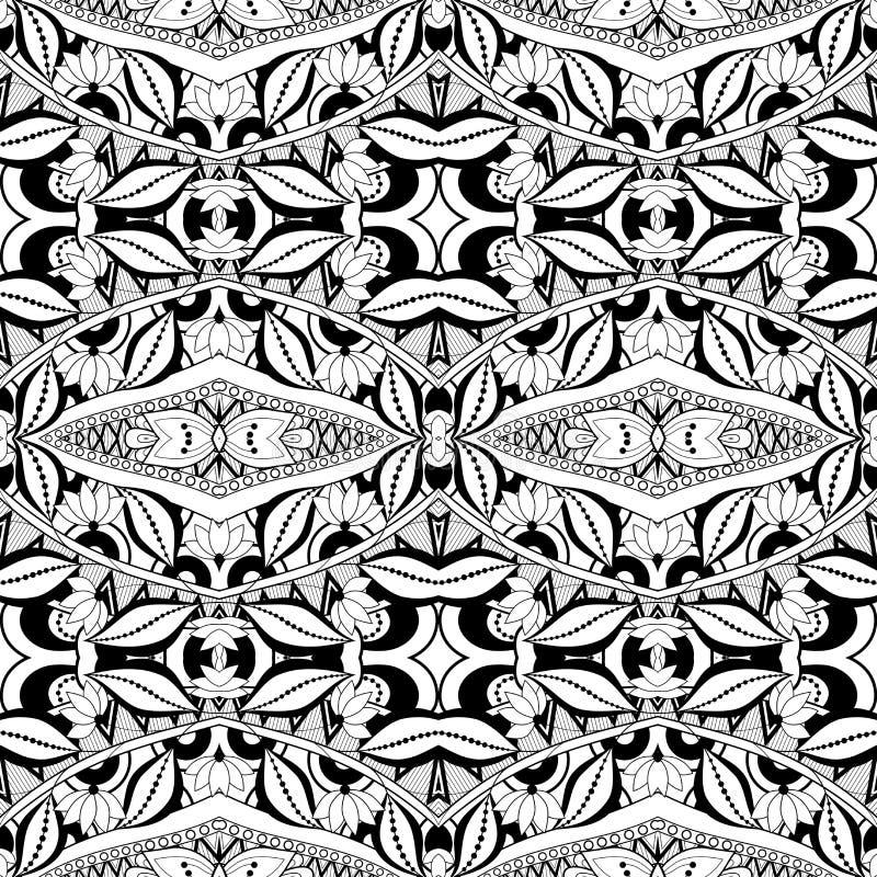 Download Modèle Tribal Abstrait Sans Couture (vecteur) Illustration de Vecteur - Illustration du cirque, batik: 56482471