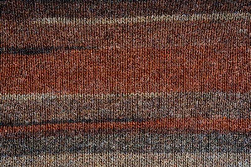Modèle tricoté d'abrégé sur fond de texture photographie stock libre de droits