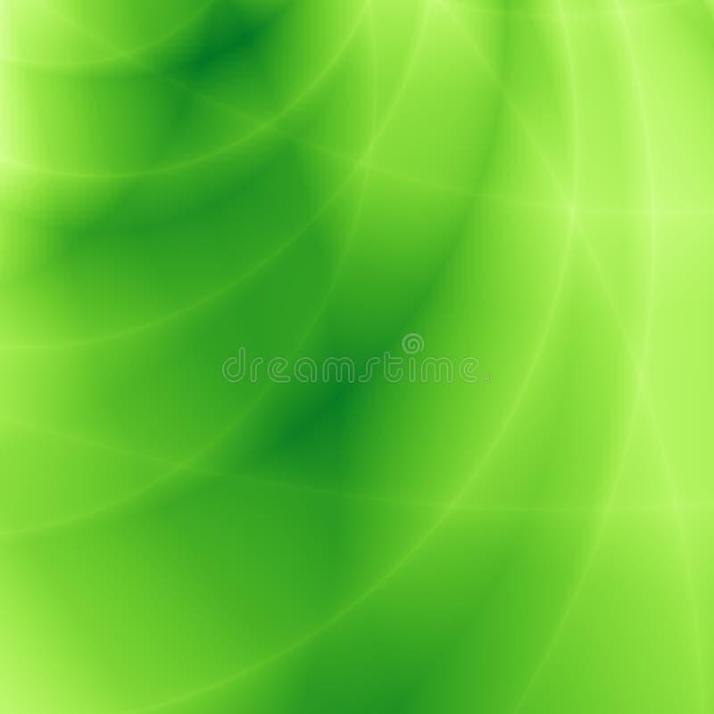 Modèle vert clair de site Web d'abrégé sur nature illustration stock