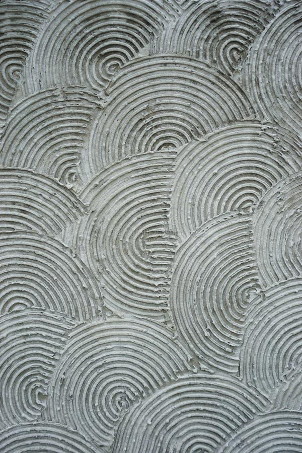 Modèle vertical abstrait de recouvrement concentrique de fond de cercles photographie stock