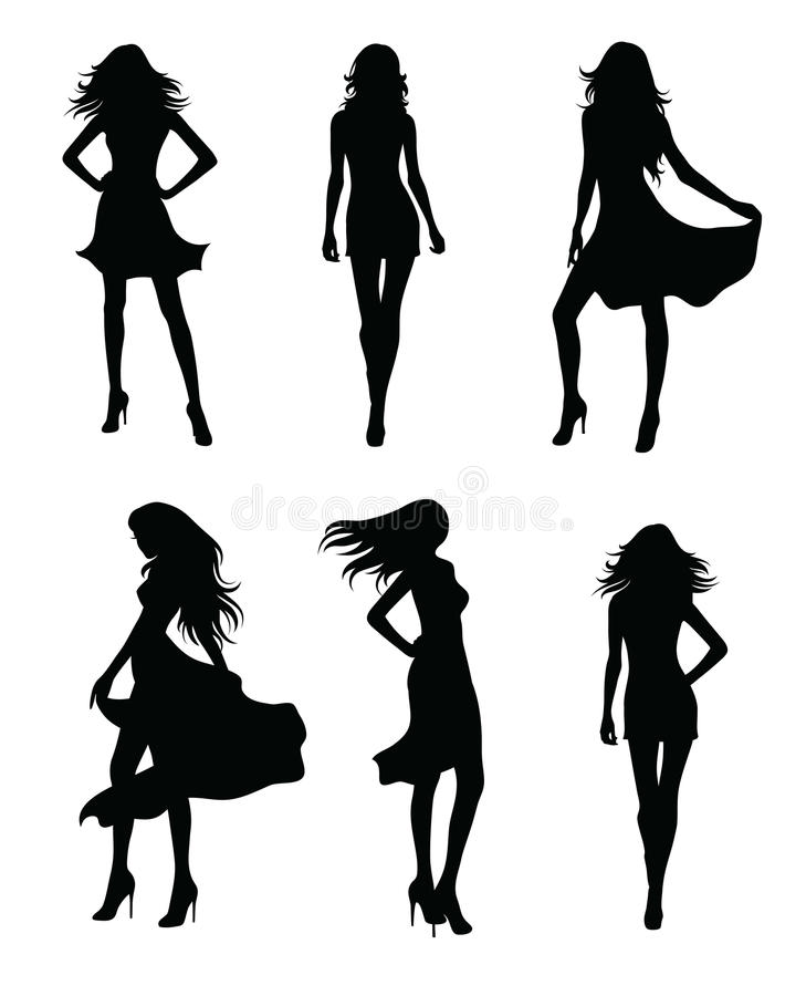 modèles illustration stock