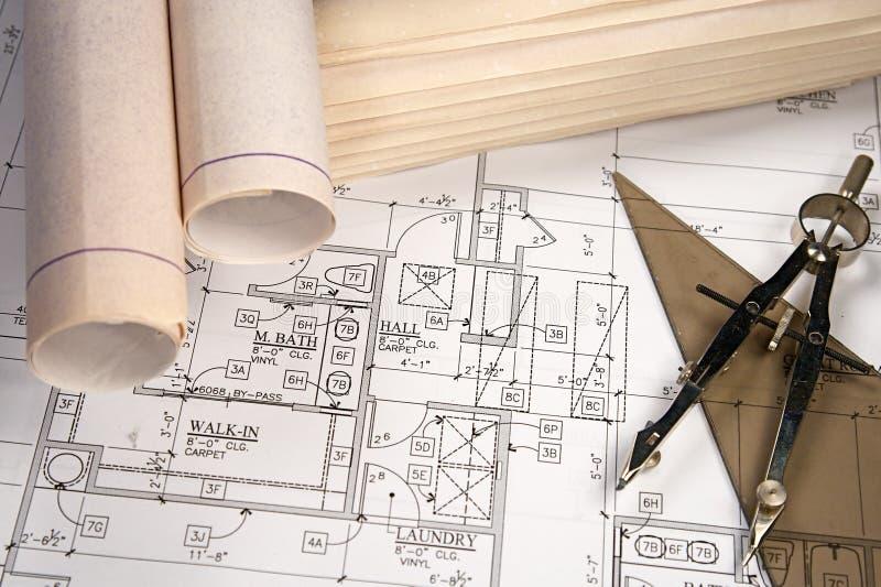 Modèles architecturaux photos stock