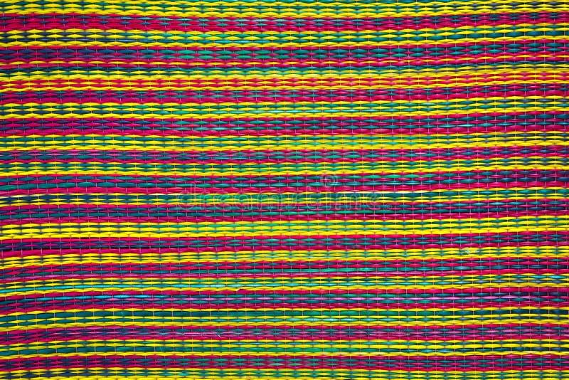 Modèles colorés de tapis images stock