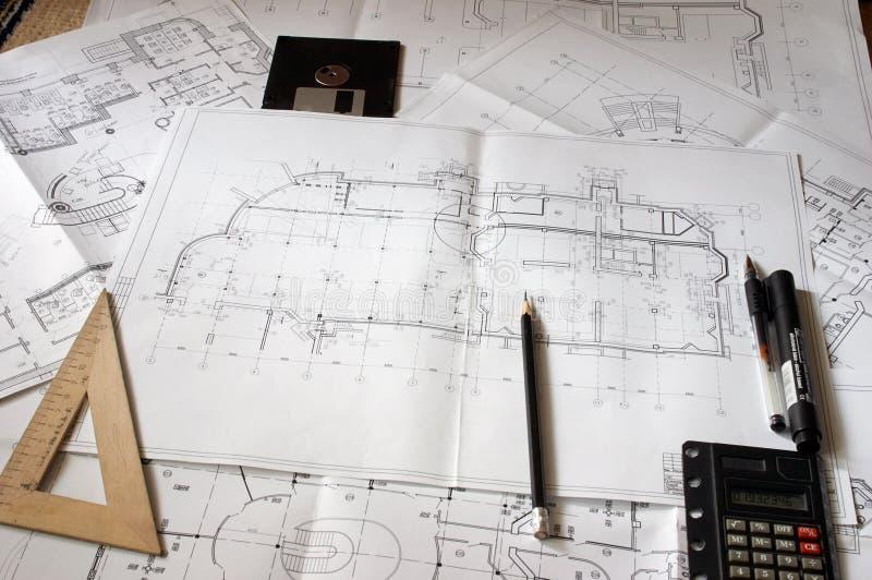 Modèles De Construction Photos stock