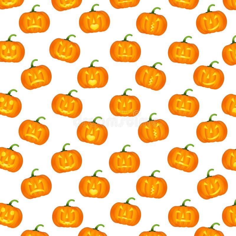 Modèles de Halloween illustration stock