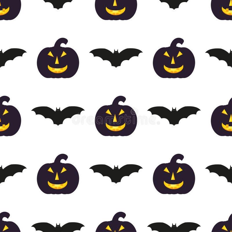 Modèles de Halloween illustration de vecteur