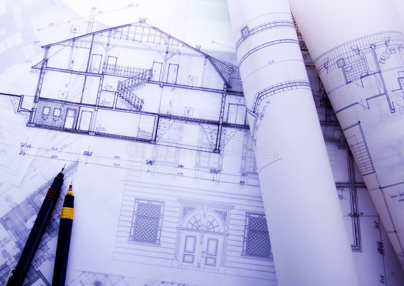 Modèles de plan de Chambre photographie stock