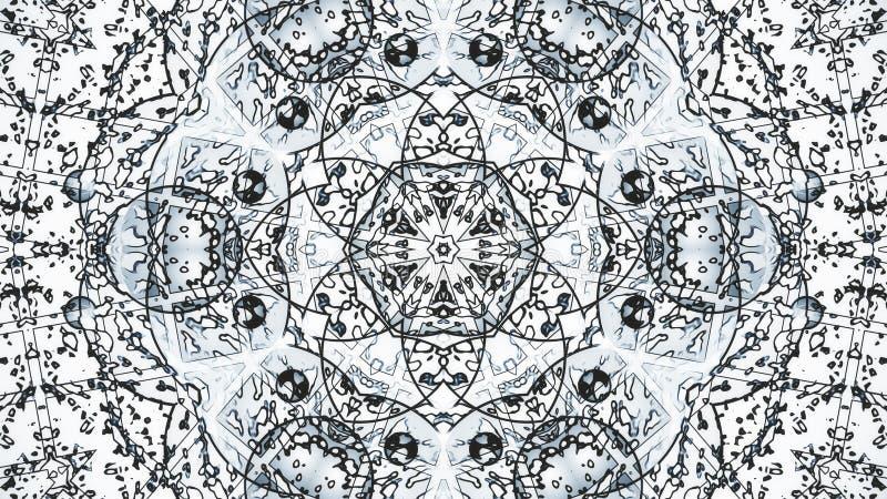 Modèles en pastel d'ordre de kaléidoscope Fond abstrait de graphiques de mouvement photo libre de droits