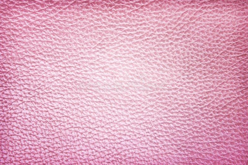 Modèles sans couture colorés de texture en cuir rose pour le fond image libre de droits