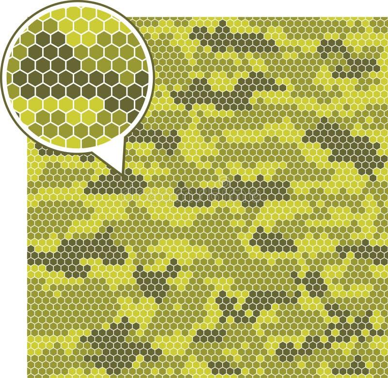 Modèles sans couture de camouflage de Digital illustration de vecteur