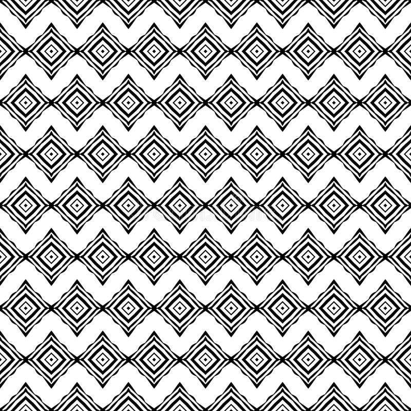 Modèles sans couture géométriques décoratifs illustration libre de droits