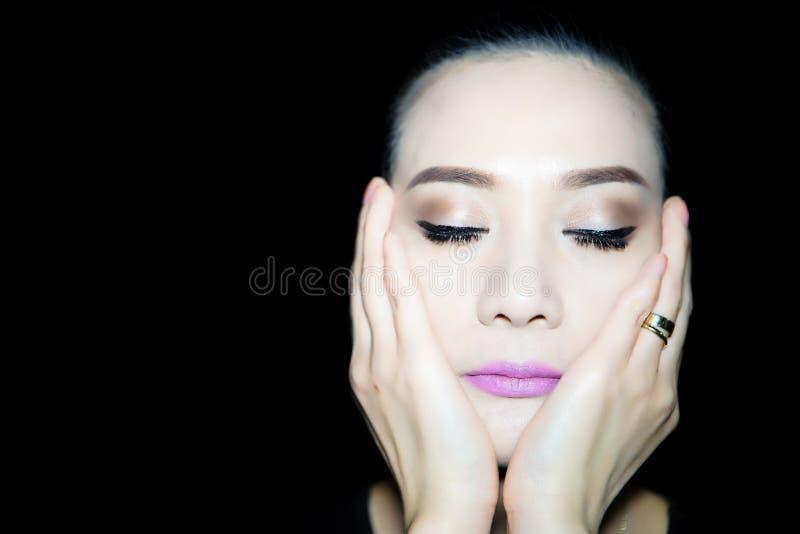 Modélisation de femme photo stock