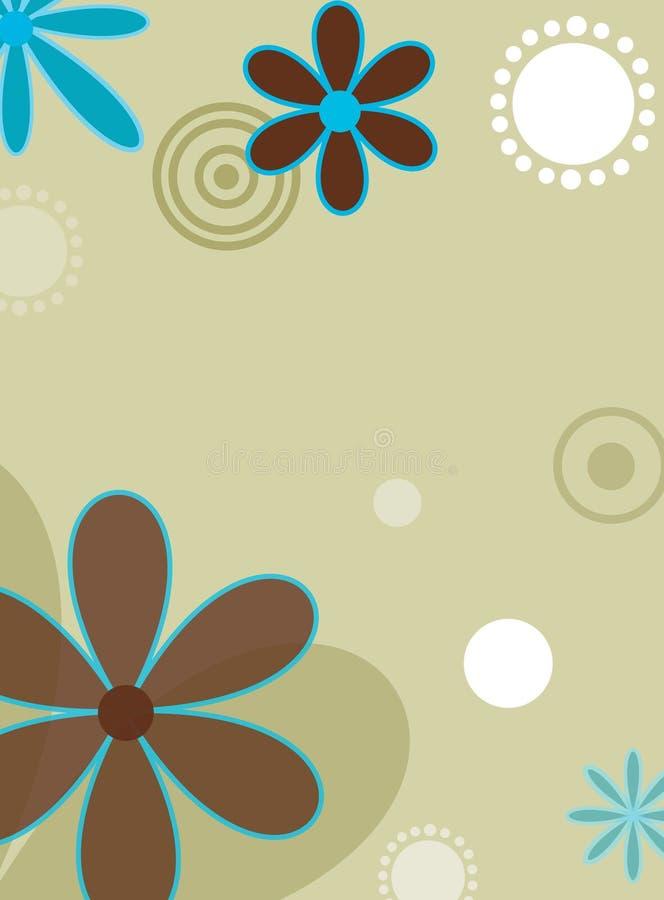 Mod flowers stock image