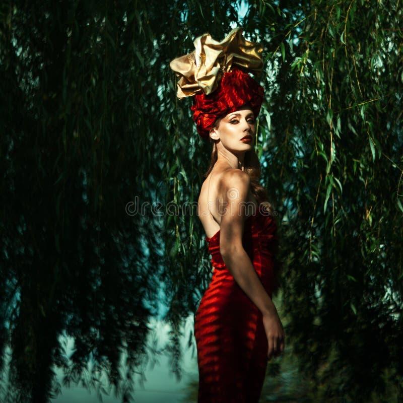 Mod kobiety obrazy stock