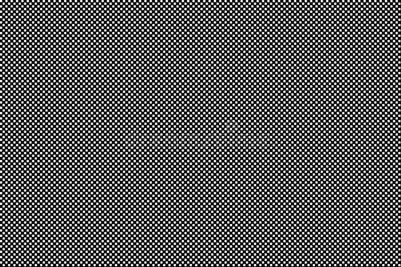Mod?le ? carreaux noir et blanc unique sans couture num?rique dynamique de texture, fond abstrait cr?atif ?l?ment de conception illustration libre de droits