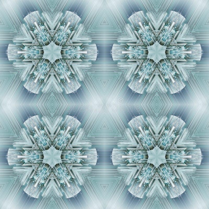 Mod?le de conception d'abr?g? sur sym?trie de Cristal Papier peint de la g?om?trie illustration libre de droits