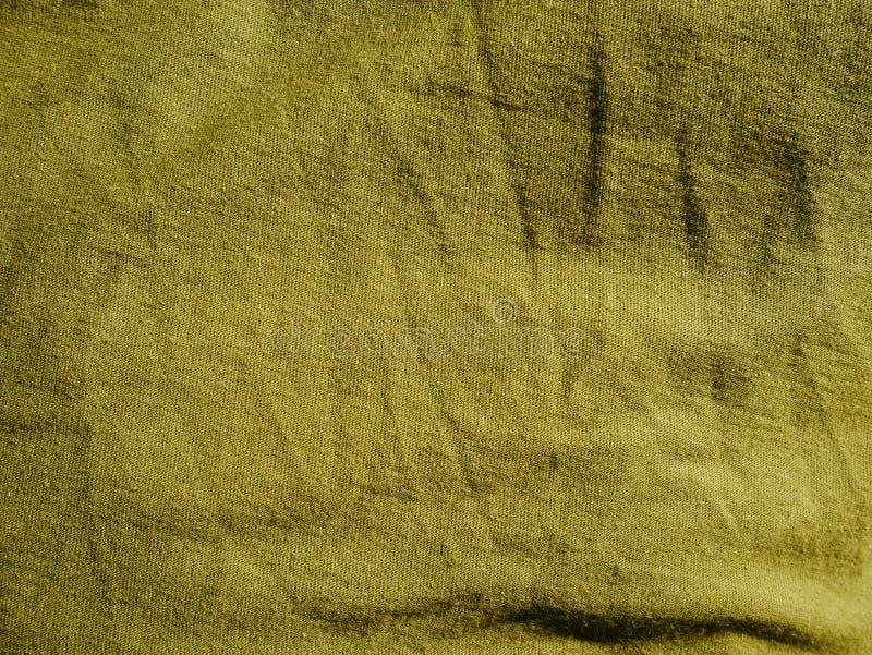 Mod?le de fond de texture Kaki en soie de tissu, vert, gris de champ Drapez, draperie images libres de droits