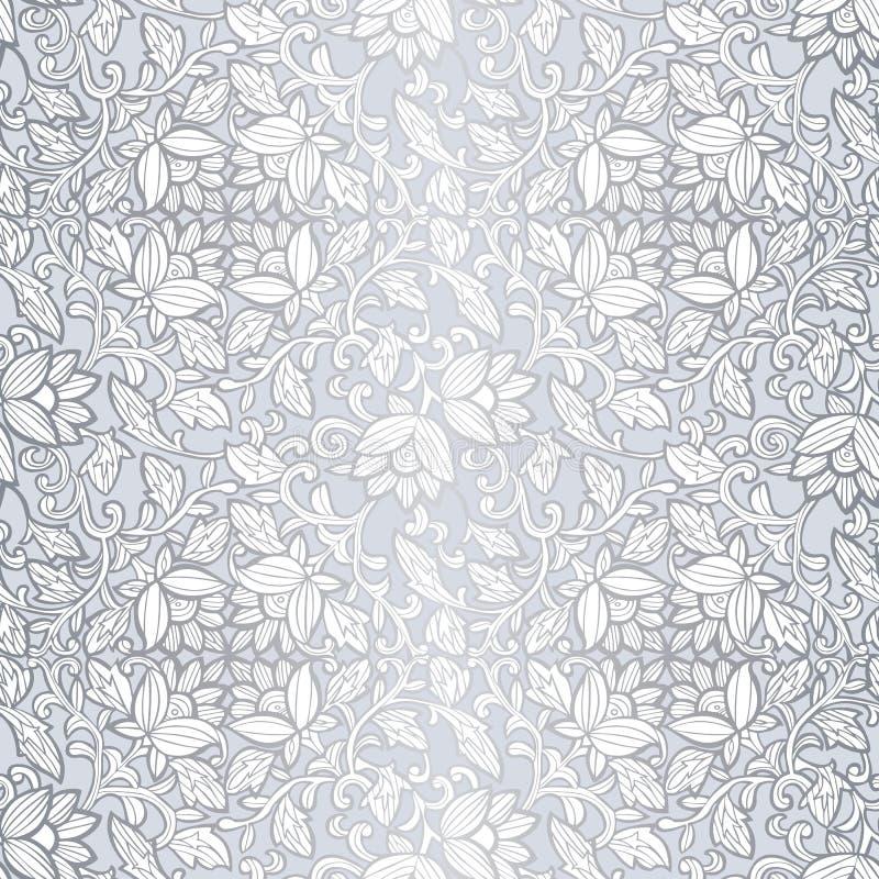 Mod?le de luxe sans couture avec des fleurs Mod?le floral pour des invitations, cartes, copie, enveloppe de cadeau, fabrication,  illustration libre de droits