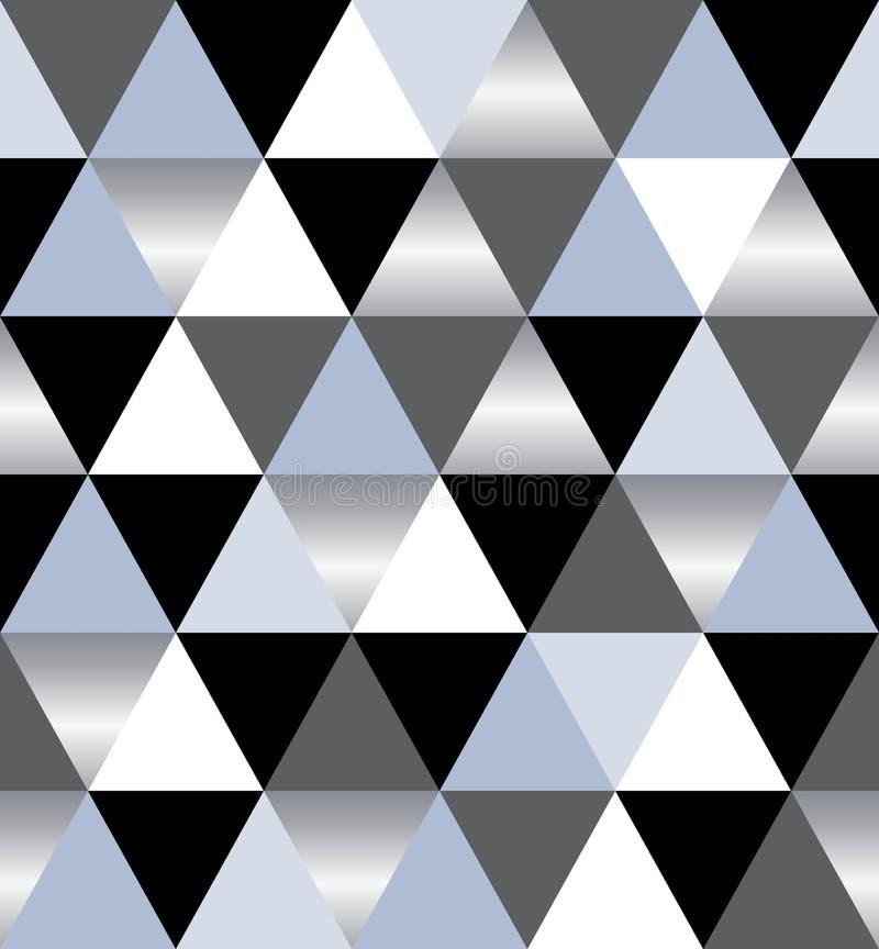 Mod?le g?om?trique triangulaire de luxe ?l?gant Illustration courante abstraite de vecteur pour la conception ext?rieure, couvert illustration stock
