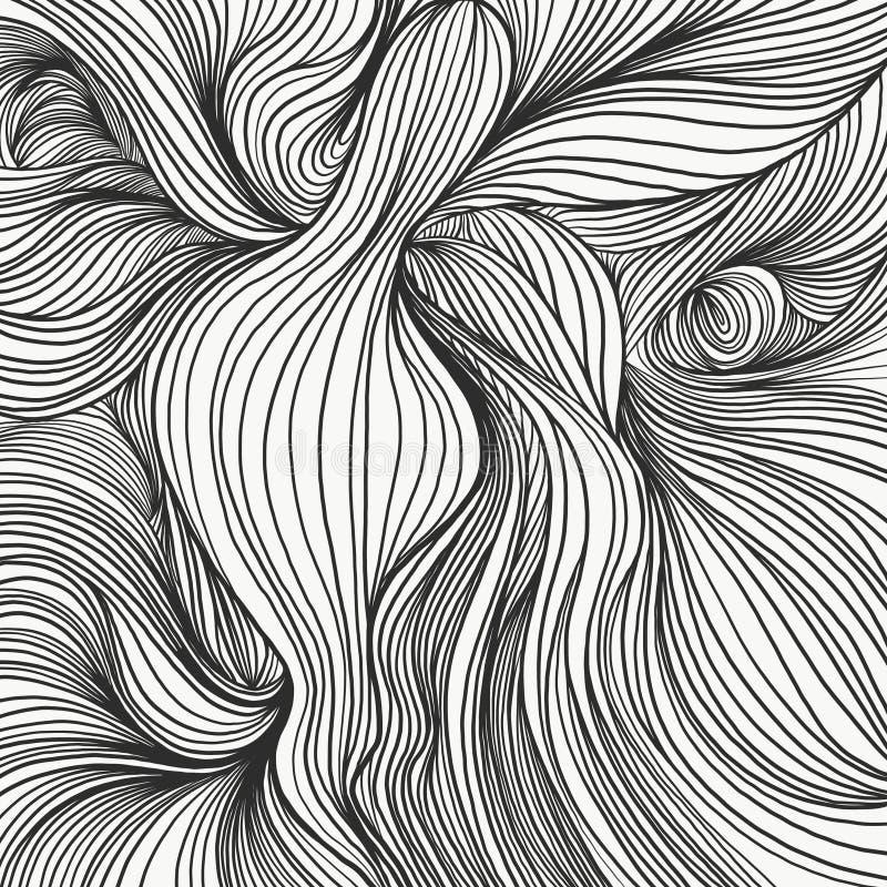 Mod?le lin?aire texture blanche et noire photo stock