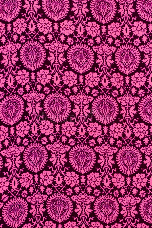 Mod?le oriental Plan rapproché de fond traditionnel de décoration de modèle floral sans couture de tapis pour des cartes, concept image stock