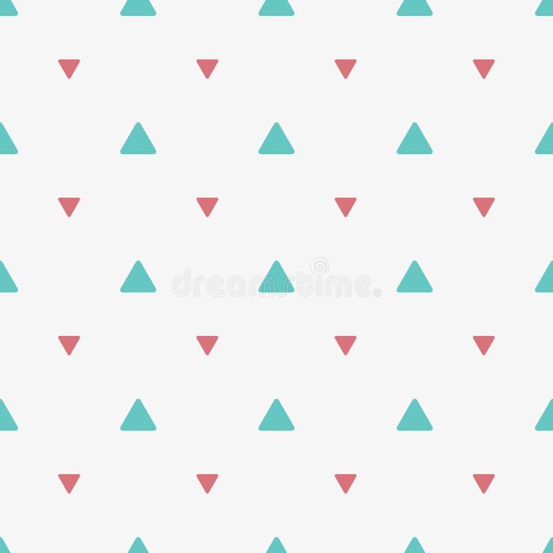 Mod?le sans couture avec les triangles color?es Impression g?om?trique Illustration de vecteur illustration stock
