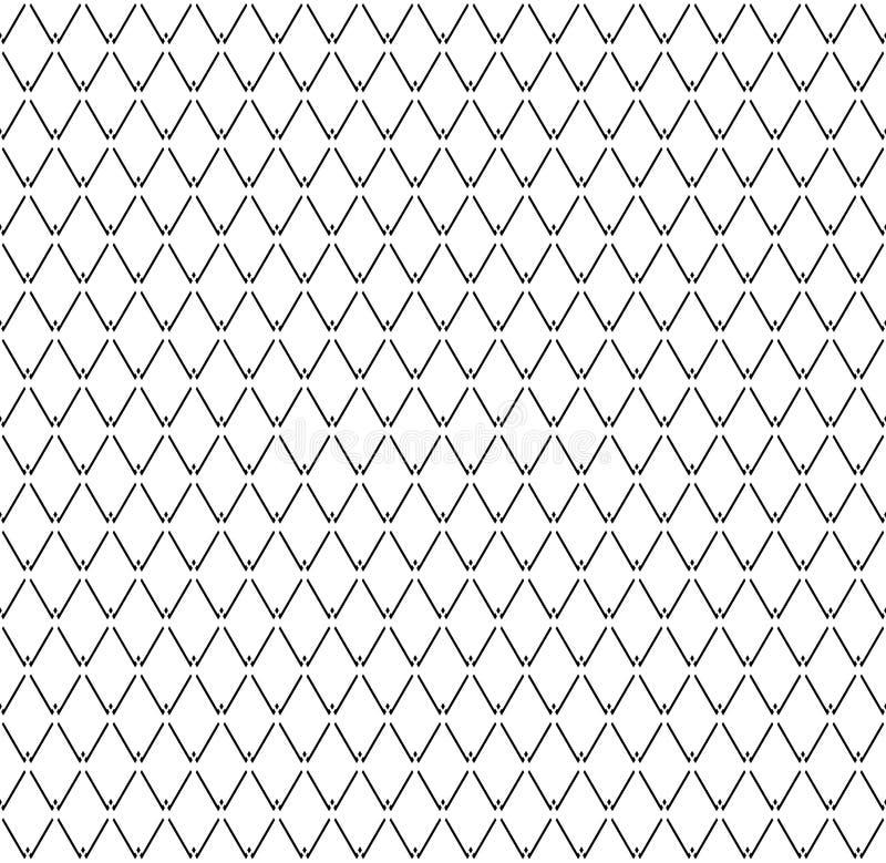 Mod?le sans couture de diamants Texture g?om?trique illustration stock