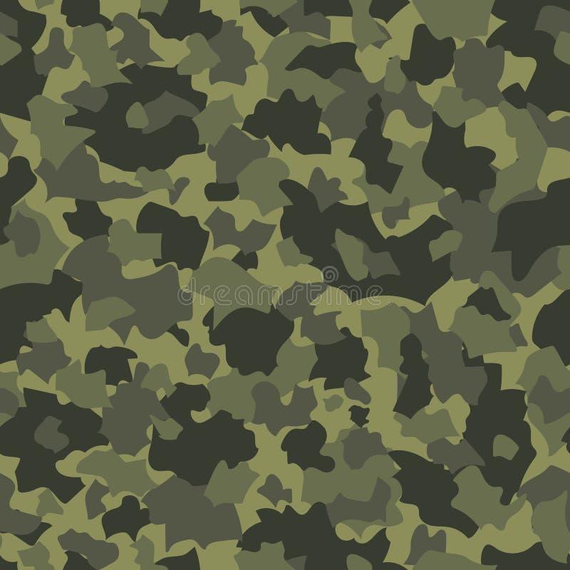 Mod?le sans couture de vecteur de camouflage illustration libre de droits