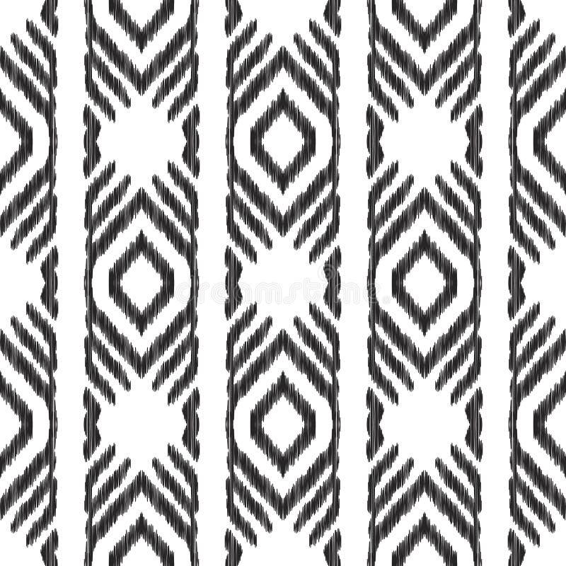 Mod?le sans couture tribal illustration de vecteur